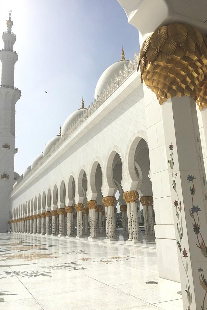 Scheich Said Moschee Abu Dhabi
