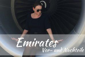 Flugbegleiter werden bei Emirates:  Vor- und Nachteile